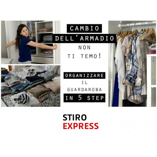 Organizzare il guardaroba in 5 step