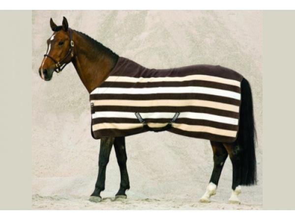 Coperta pile stripes
